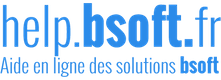 Aide en Ligne des Solutions de Bsoft.fr